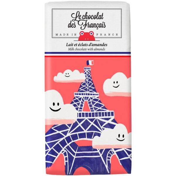 Chocolat Des Français Tour Eiffel Nuages