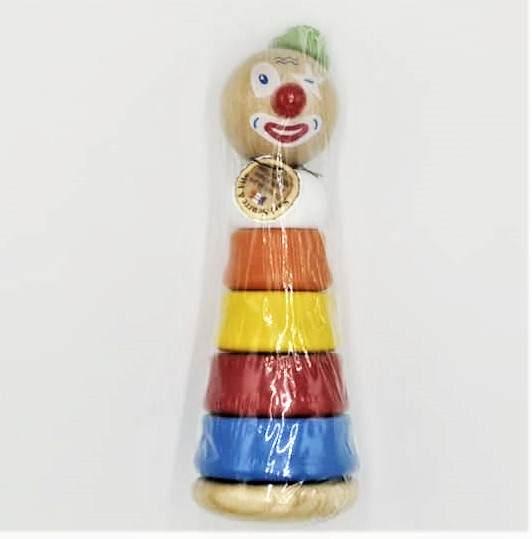 Empilable Clown Vert