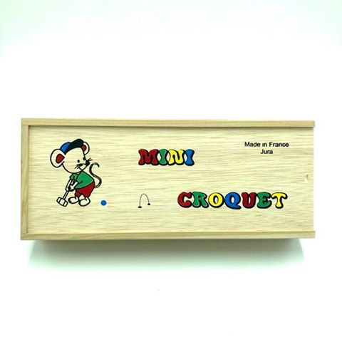 Mini Croquet Boîte