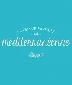 zoom femme parfaite méditerranéenne