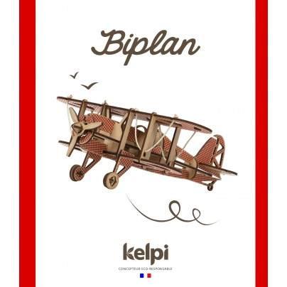 Biplan Rouge
