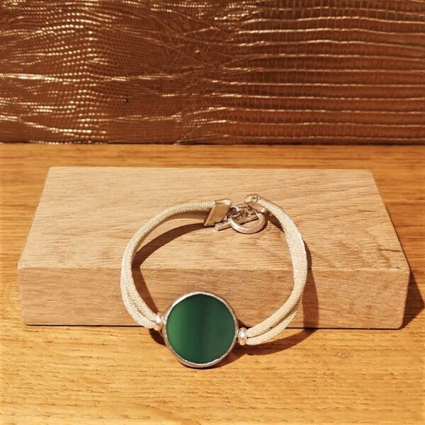 Bracelet Circle Vert