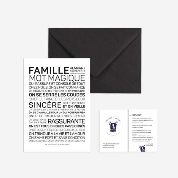 Carte Famille
