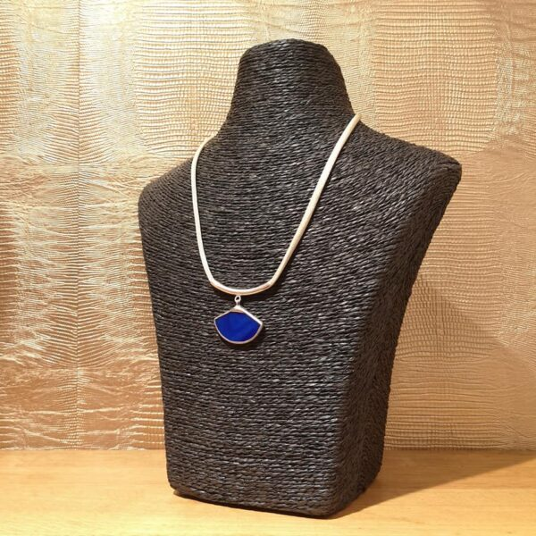 Collier Dice Bleu