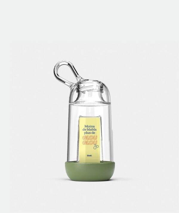 Gourde Gobi 25cl Olive