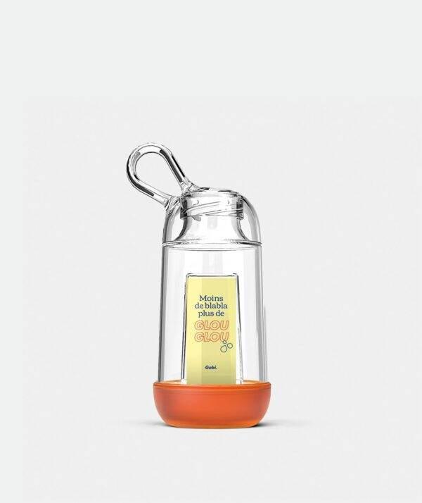 Gourde Gobi 25cl Orange