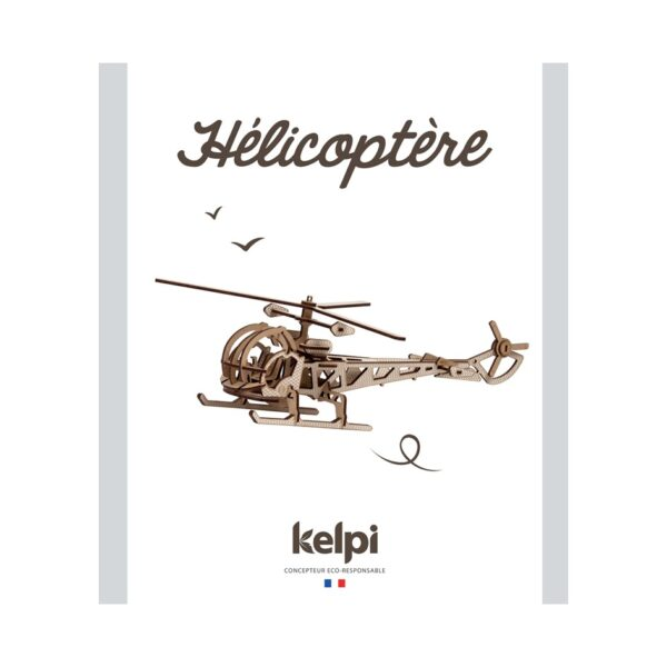 Hélicoptère Blanc Packaging Recto