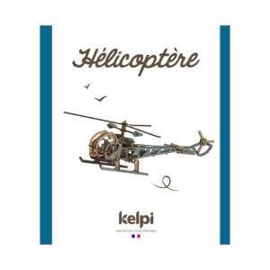 Hélicoptère Bleu Packaging Recto