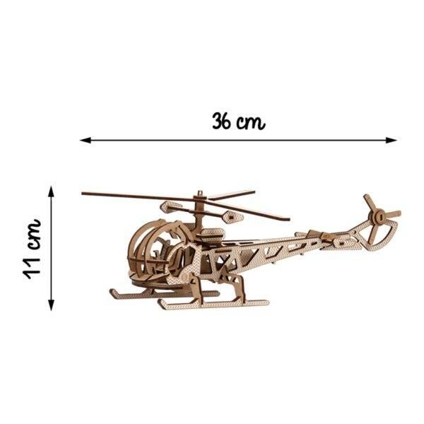 Hélicoptère Kelpi Blanc Monté