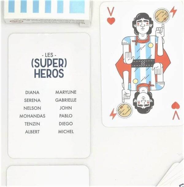 Jeu De Cartes Super Héros 3