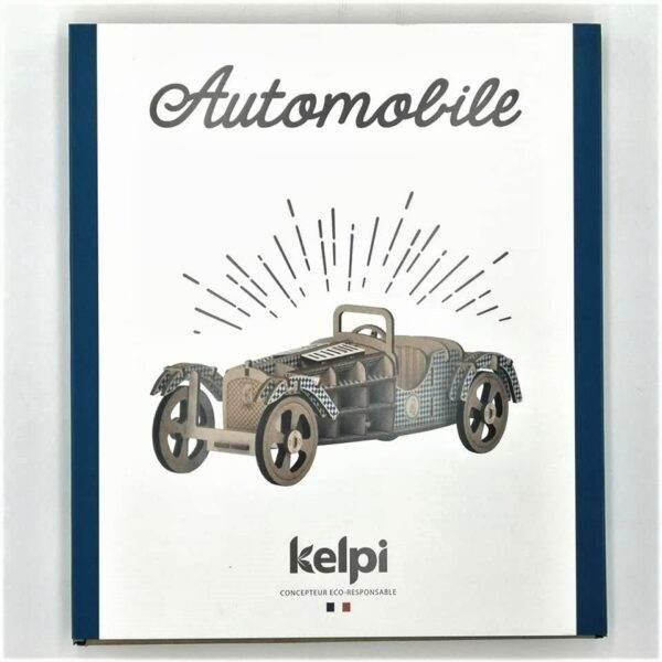 Kelpi Automobile Bleue