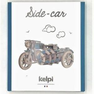 Kelpi Side Car Bleu