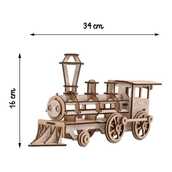 Locomotive Kelpi Blanche Montée