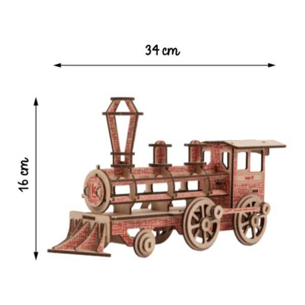 Locomotive Kelpi Rouge Montée 2