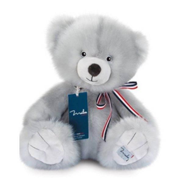 mailou l'ours français gris perle 1