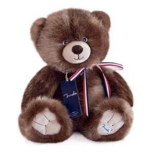 mailou l'ours français taupe 1