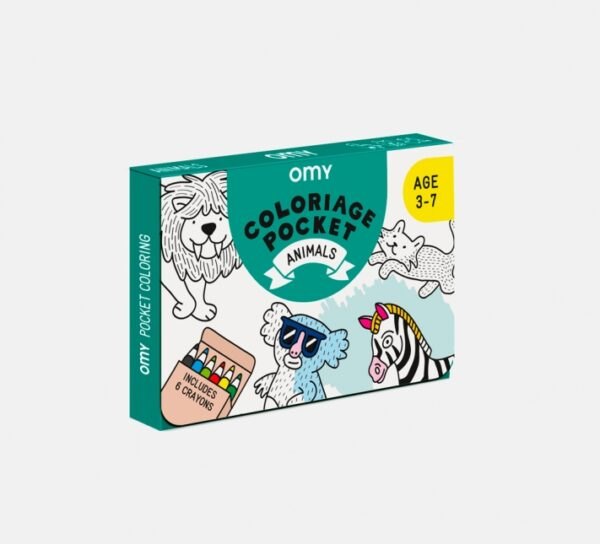 Omy Coloriage Pocket Animals