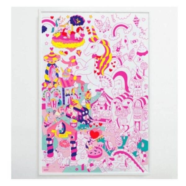 Omy Poster Licornes 2