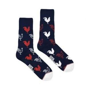 chaussettes coqs