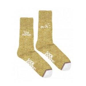 chaussettes maman en or